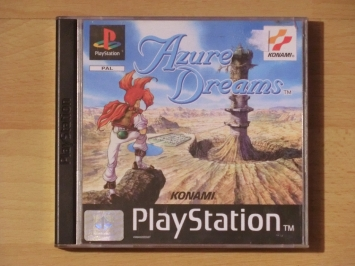 Azure Dreams PlayStation PS1 RPG Dungeon Crawler