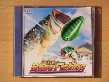 SEGA Bass Fishing Dreamcast Sport Angel