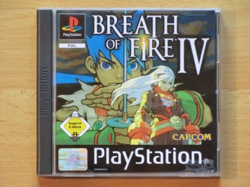Breath of Fire 4 IV PlayStation PS1 RPG