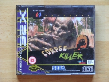 Corpse Killer 32X MEGA-CD SEGA MEGA DRIVE 32X Action Lighgun Shooter