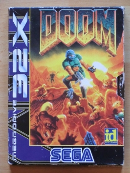 Doom SEGA MEGA DRIVRE 32X Shooter FPS