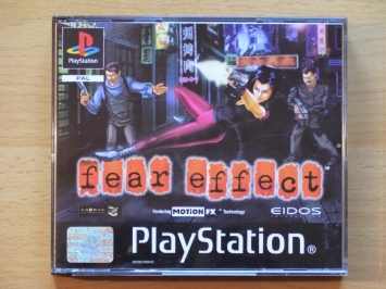 fear effect PlayStation PS1 Survival Horror