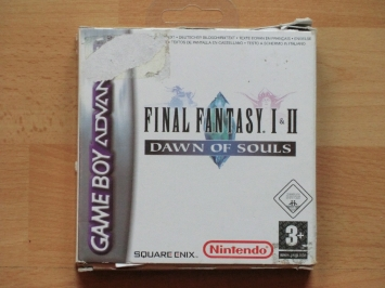 Final Fantasy 1 & 2 - Dawn of Souls GBA Gameboy Advance RPG