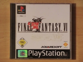 Final Fantasy 6 PlayStation PS1 RPG