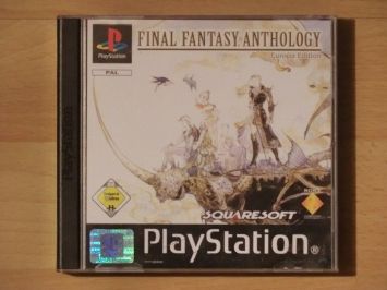 Final Fantasy Anthology PlayStation PS1 RPG
