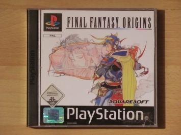 Final Fantasy Origins PlayStation PS1 RPG