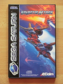 Galactic Attack SEGA Saturn Shmup layer section