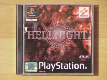 Hellnight PlayStation PS1 Survival Horror