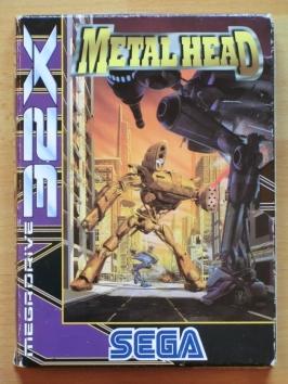 Metal Head SEGA MEGA DRIVRE 32X Action Mech