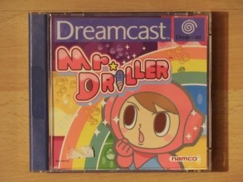 Mr. Driller Dreamcast Puzzle