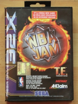 SNBA Jam T.E. Tournament Edition SEGA MEGA DRIVRE 32X Sport Basketball