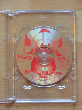 Nights into Dreams XMAS SEGA Saturn Action