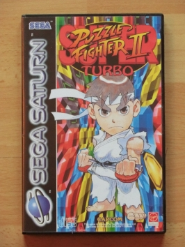 Super Puzzle Fighter 2 Turbo SEGA Saturn Puzzle