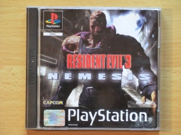 Resident Evil 3 Nemesis PlayStation PS1 Survival Horror