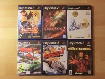 PlayStation 2 Games. Bei Burnout und FF X hatte ich bis jetzt nur Platinum Versionen.