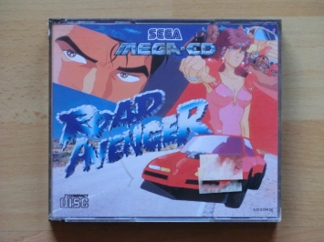 Road Avenger MEGA-CD Action