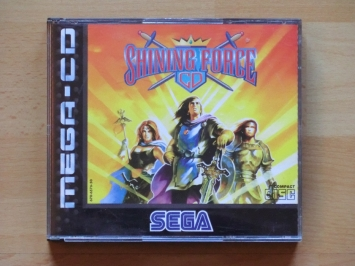 Shining Force CD MEGA-CD RPG