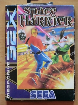 Space Harrier SEGA MEGA DRIVRE 32X Action Shmup