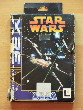 Star Wars Arcade SEGA MEGA DRIVRE 32X Action