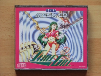 Time Gal MEGA-CD Action