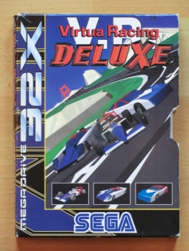Virtua Racing Deluxe SEGA MEGA DRIVRE 32X Racing