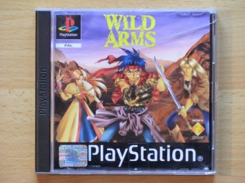 Wild Arms PlayStation PS1 RPG