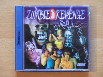 Zombie Revenge Dreamcast Survival Horror