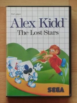Alex Kidd - The Lost Stars Master System Adventure Jump and Run