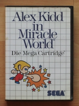 Alex Kidd in Miracle World Master System Jump and Run