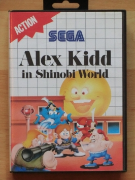 Alex kidd in Shinobi World Master System Jump and Run