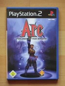 Arc Twilight of the Spirits PlayStation 2 PS2 RPG