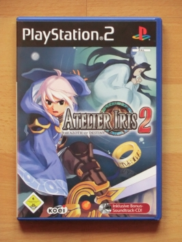 Atelier Iris 2 The Azoth of Destiny PlayStation 2 PS2 RPG