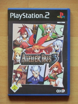 Atelier Iris 3 Grand Phantasm PlayStation 2 PS2 RPG