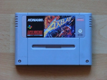 Axelay Super Nintendo SNES Shmup