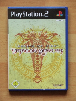 Breath of Fire Dragon Quarter PlayStation 2 PS2 RPG