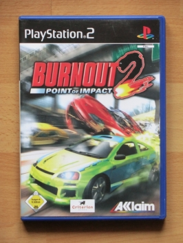 Burnout 2 PlayStation 2 PS2 Racing Crash