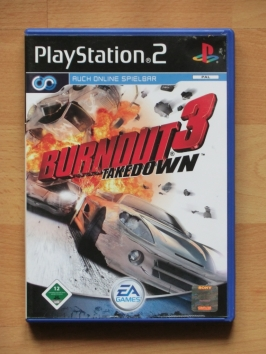 Burnout 3 PlayStation 2 PS2 Racing Crash