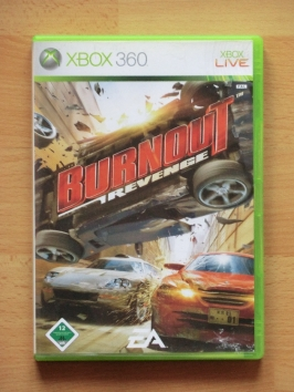 Burnout Revenge Microsoft Xbox 360 Racing Crash