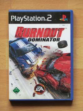 Burnout Dominator PlayStation 2 PS2 Racing Crash