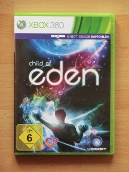 Child of Eden Microsoft Xbox 360 Kinect Music