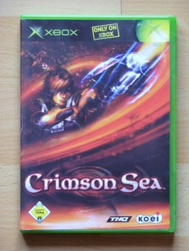Crimson Sea Microsoft XBOX Adventure