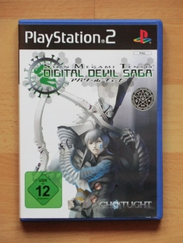 Digital Devil Saga PlayStation 2 PS2 RPG