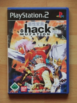 dot .Hack Mutation PlayStation 2 PS2 RPG