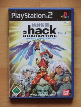 dot .Hack Quarantine PlayStation 2 PS2 RPG