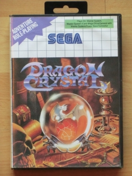 Dragon Crystal Master System RPG