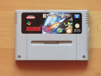 Earth Defense Force EDF Super Nintendo SNES Shmup