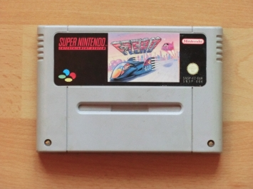 F-Zero Super Nintendo SNES Racing
