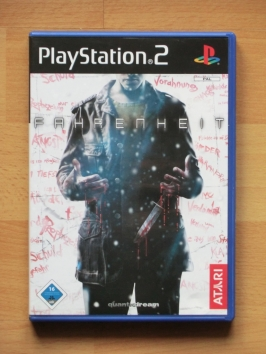 Fahrenheit Indigo Prophecy PlayStation 2 PS2 Adventure