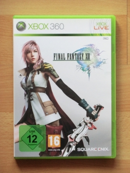 Final Fantasy 13 Microsoft Xbox 360 RPG