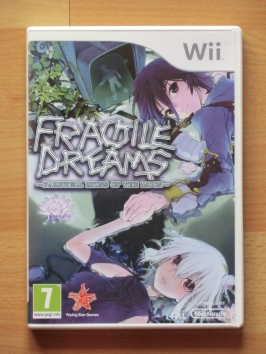 Fragile Dreams Farewell Ruins of the Moon Nintendo WII RPG Adventure